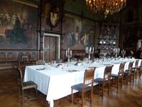 Rittertisch im Schloß Wernigerode